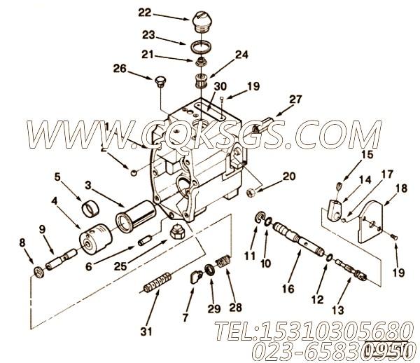 【内六角螺钉】康明斯CUMMINS柴油机的3348542 内六角螺钉