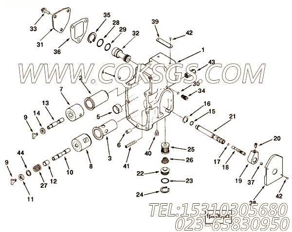 【压缩弹簧】康明斯CUMMINS柴油机的3278388 压缩弹簧
