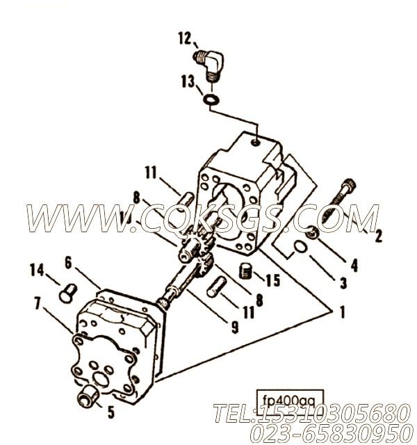 【燃油泵传动轴】康明斯CUMMINS柴油机的100216 燃油泵传动轴