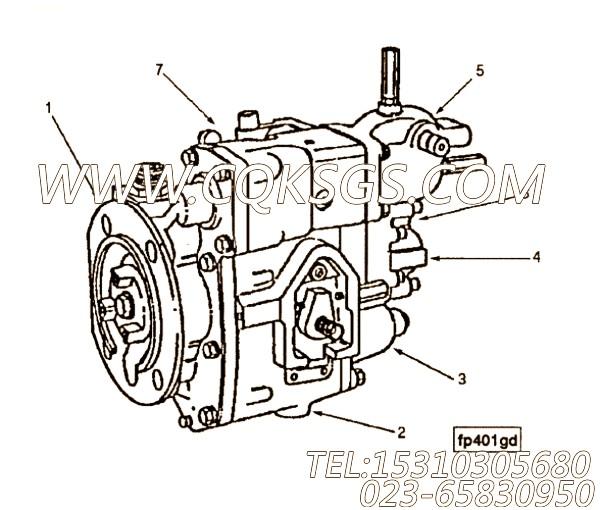 【燃油泵】康明斯CUMMINS柴油机的3202168 燃油泵