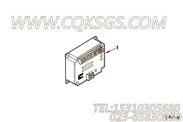 【调速器控制】康明斯CUMMINS柴油机的3037359 调速器控制