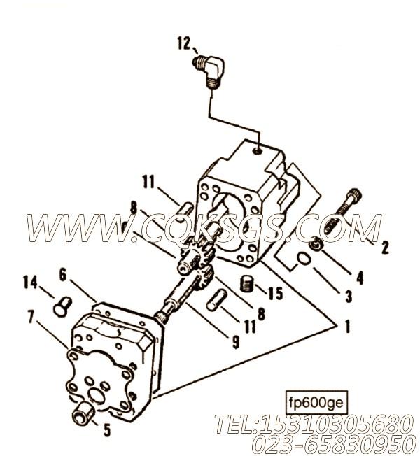 【燃油泵垫片】康明斯CUMMINS柴油机的3080837 燃油泵垫片