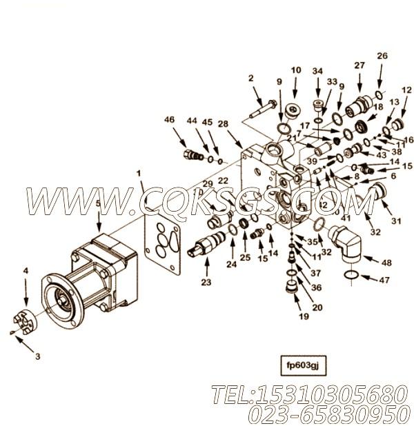 【燃油泵】康明斯CUMMINS柴油机的4903527 燃油泵