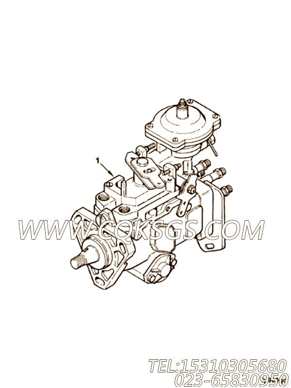 【喷油泵】康明斯CUMMINS柴油机的3916926 喷油泵