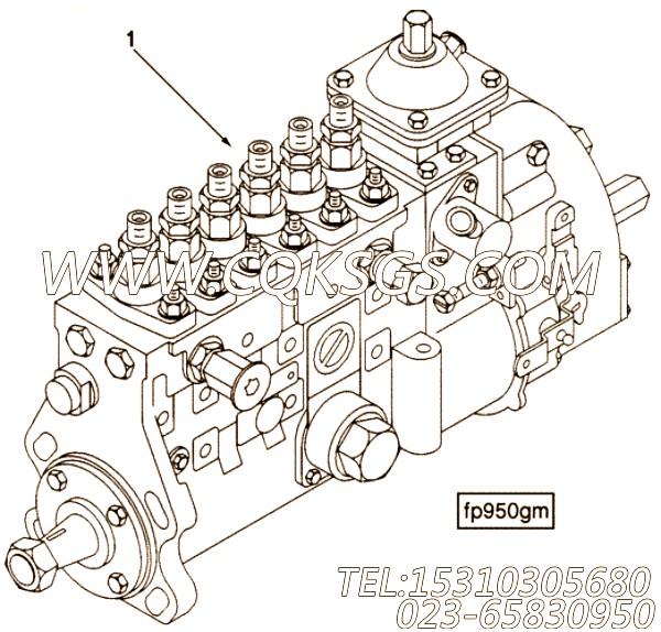 【喷油泵】康明斯CUMMINS柴油机的3922762 喷油泵