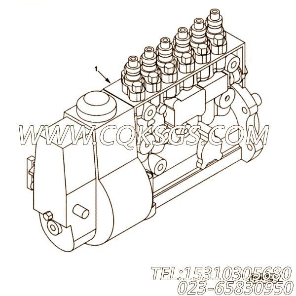【喷油泵】康明斯CUMMINS柴油机的3968564 喷油泵