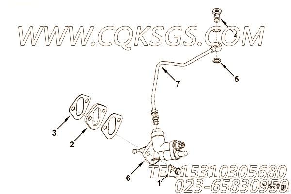 【柴油机6LT9.5-C220的输油泵总成】 康明斯输油泵,参数及图片