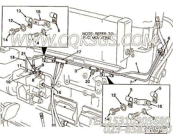 【阀支架】康明斯CUMMINS柴油机的3056169 阀支架