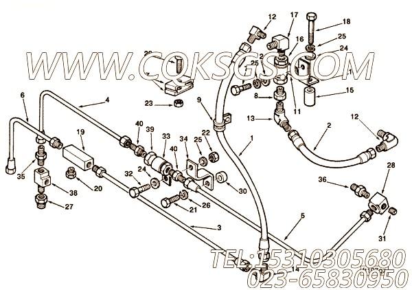 【柔性软管】康明斯CUMMINS柴油机的3967575 柔性软管