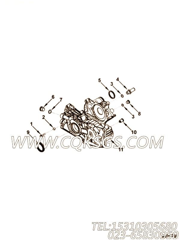 【3936365】减压阀 用在康明斯柴油发动机