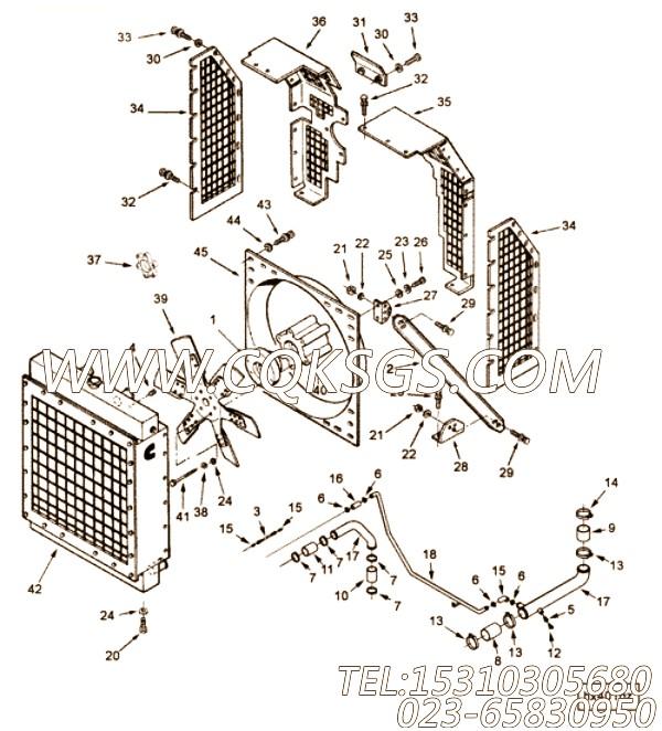 【柔性软管】康明斯CUMMINS柴油机的AS 5035 SS 柔性软管