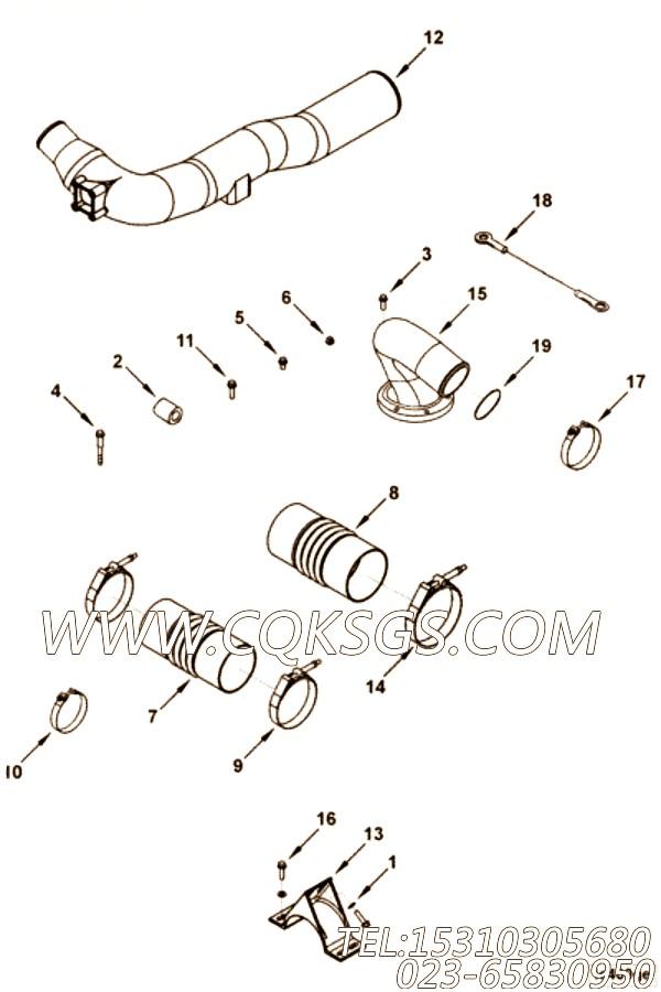 【锁紧螺母】康明斯CUMMINS柴油机的3285627 锁紧螺母