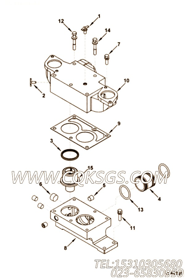Gasket, Thermostat Housing