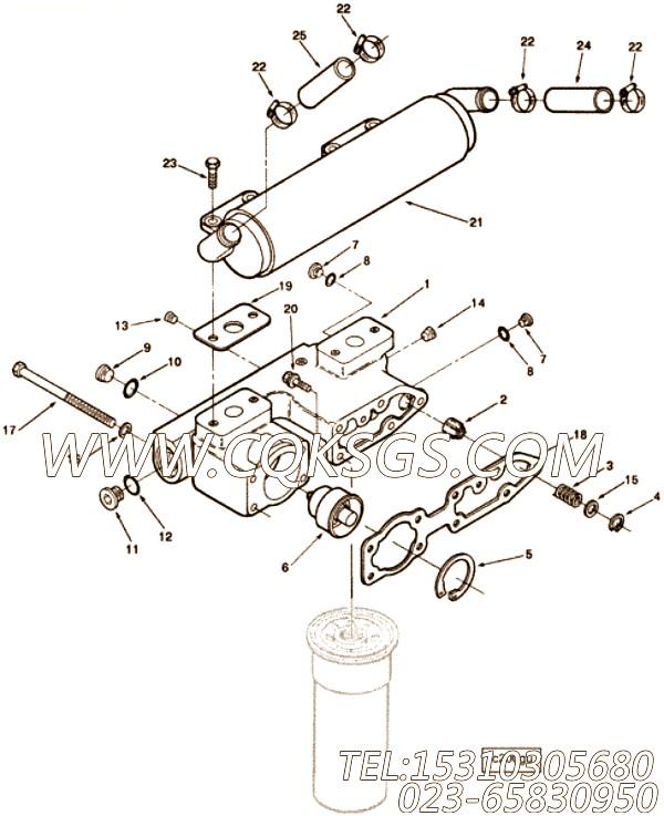 【平垫圈】康明斯CUMMINS柴油机的64943 平垫圈