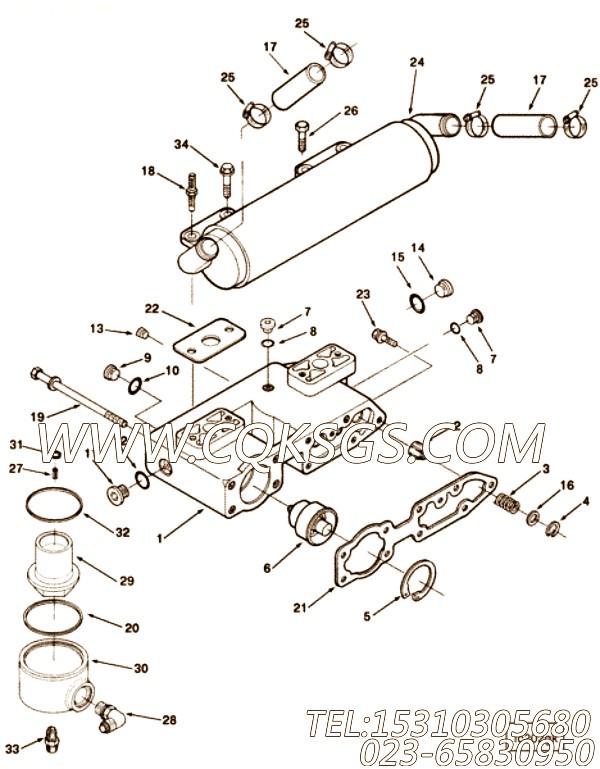 【矩形密封圈】康明斯CUMMINS柴油机的3072832 矩形密封圈
