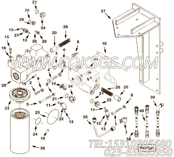 【柔性软管】康明斯CUMMINS柴油机的3331625 柔性软管
