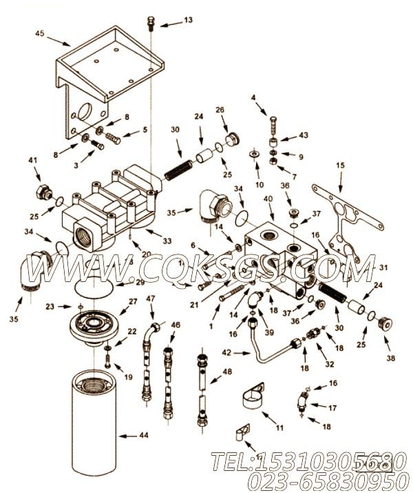 【柔性软管】康明斯CUMMINS柴油机的3410226 柔性软管