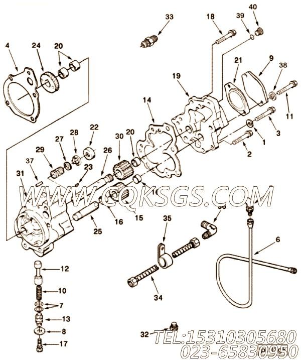 Gasket, Lube Oil Pump