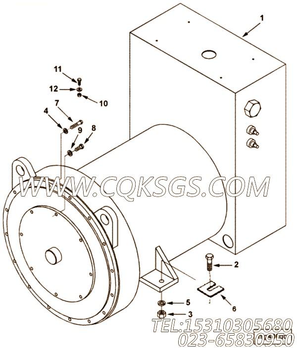 【套件和组件】康明斯CUMMINS柴油机的70205 套件和组件