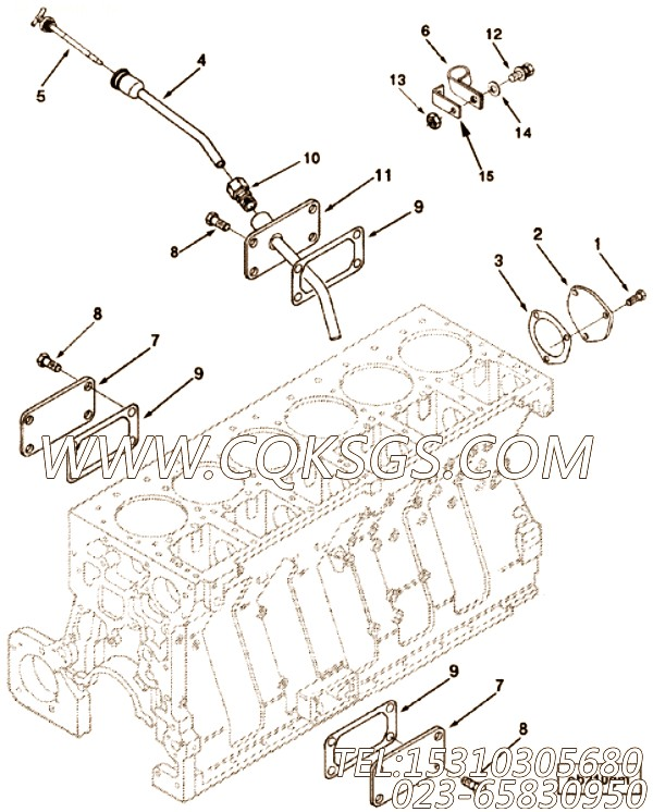 Gasket, Cover Plate
