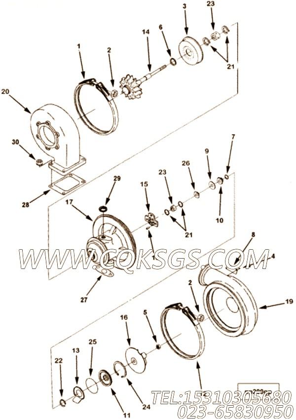 涡轮增压器压气机叶轮