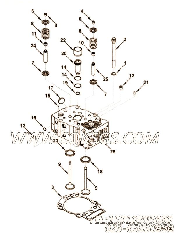 【火花塞适配器】康明斯CUMMINS柴油机的3394117 火花塞适配器
