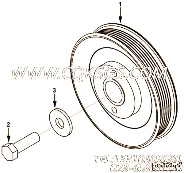 Pulley, Accessory Drive