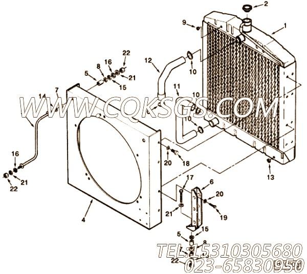 【模压管】康明斯CUMMINS柴油机的C0503136600 模压管