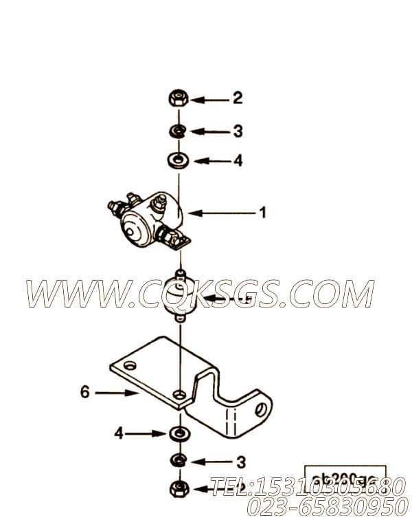 Bracket, Magnetic Switch