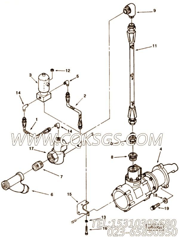 【空气控制阀】康明斯CUMMINS柴油机的3059442 空气控制阀