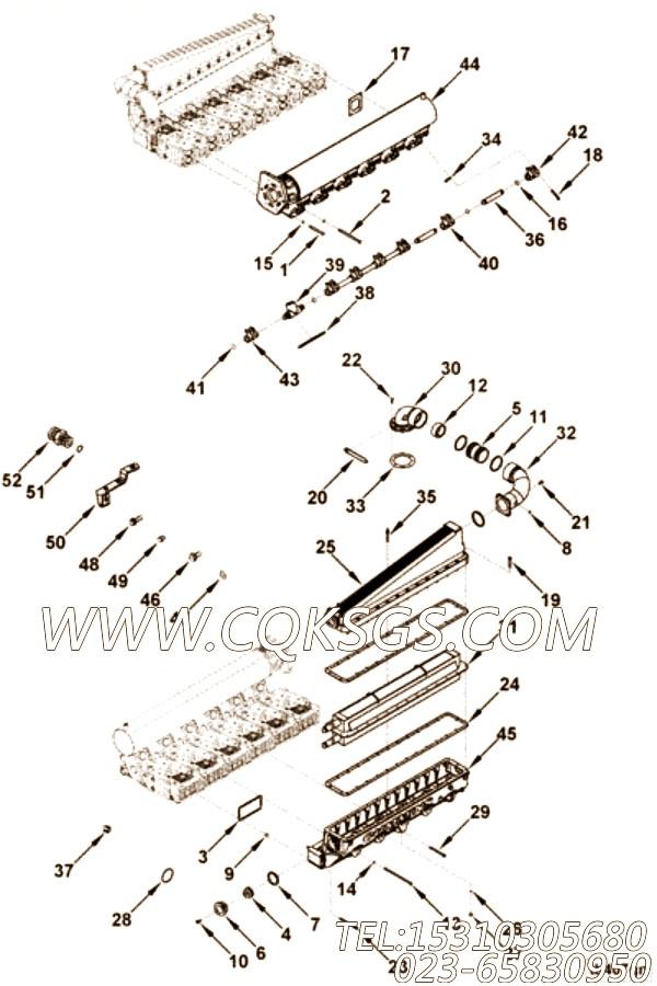 【六角头螺栓】康明斯CUMMINS柴油机的137891 六角头螺栓