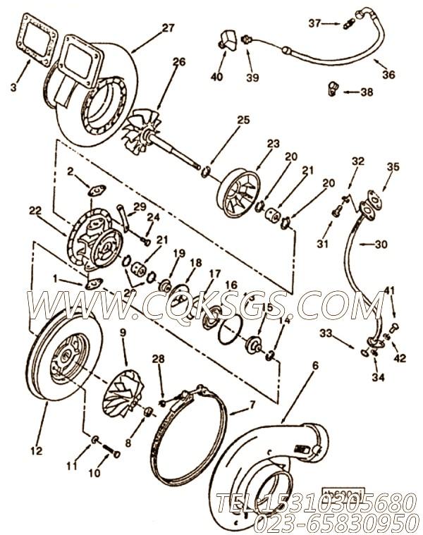涡轮增压器密封垫