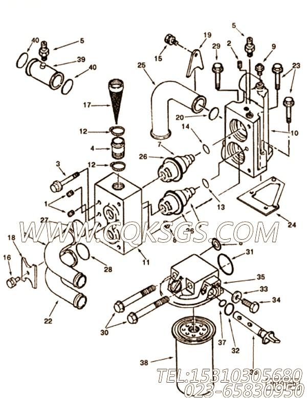 【圈养的洗衣机第螺丝】康明斯CUMMINS柴油机的3053371 圈养的洗衣机第螺丝