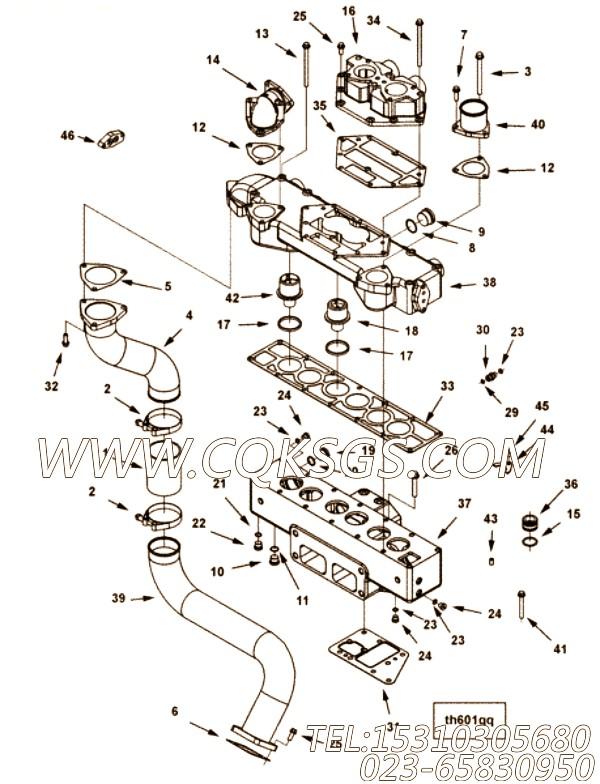 【安装垫片】康明斯CUMMINS柴油机的4101325 安装垫片