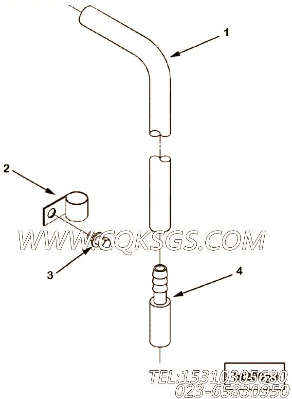 用于进口ISM11柴油机曲轴箱呼吸器