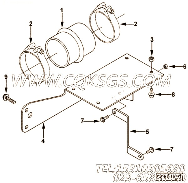 Clamp, T Bolt