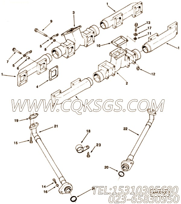 Spacer, Mounting