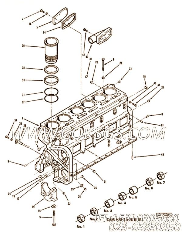 【内胆包】康明斯CUMMINS柴油机的AR11317 内胆包