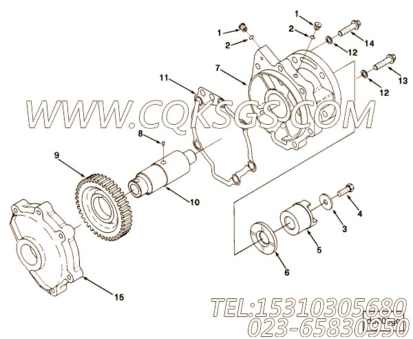 Gasket, Acc Drive Support