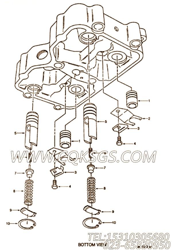 【发动机制动】康明斯CUMMINS柴油机的3063528 发动机制动