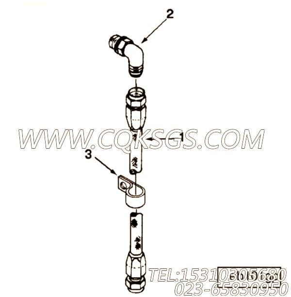 【柔性软管】康明斯CUMMINS柴油机的A404400 SS 柔性软管