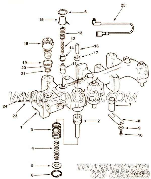 【后发动机制动】康明斯CUMMINS柴油机的3899812 后发动机制动