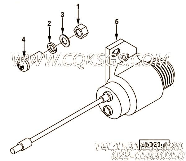 【引擎EQB190-10的排气制动组】 康明斯弹簧垫圈,参数及图片