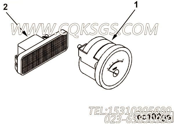 【电流表】康明斯CUMMINS柴油机的3351425 电流表