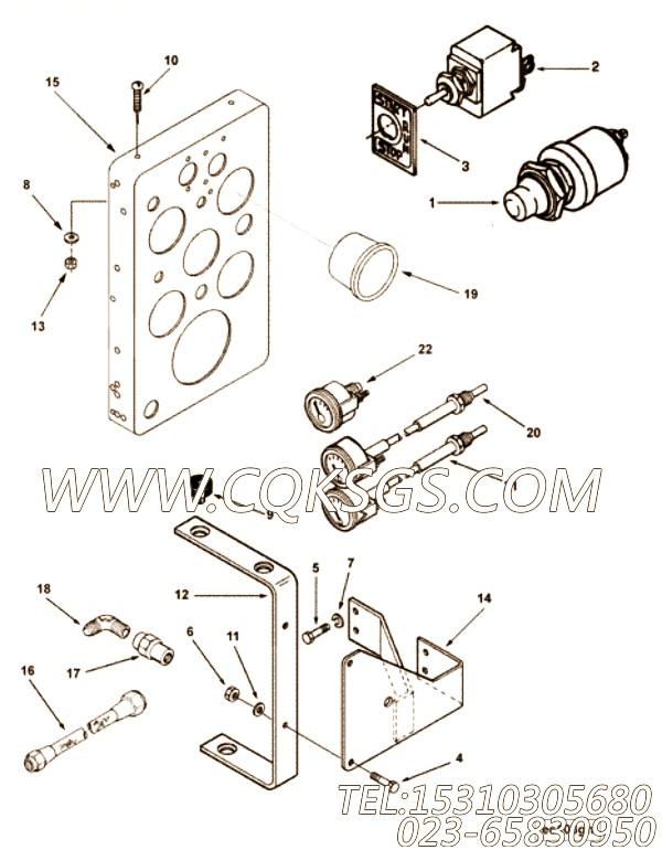 【隔振器】康明斯CUMMINS柴油机的102486 隔振器