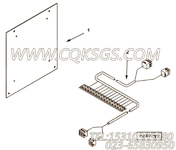 3031707大底板,用于康明斯NT855-M300柴油机仪表板总成组,【船舶机械】配件