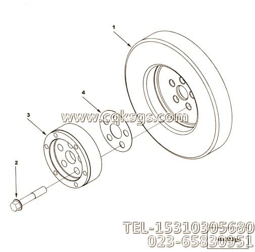 康明斯m11-c350 e20减振器 cumminsm11-c350 e20减振器
