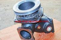 3045568进水接头,用于康明斯KTA38-C1200柴油发动机基础件组,更多【打桩机】配件报价