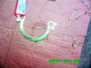 116982锁紧片,用于康明斯NTC-350柴油机排气管及安装组,更多【冷再生机】配件报价