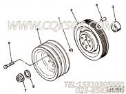 【附件传动皮带轮】康明斯CUMMINS柴油机的3064865 附件传动皮带轮